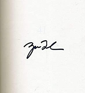 GEORGE W BUSH Cert Hand Signed 41 Book Autograph - JSA Certified