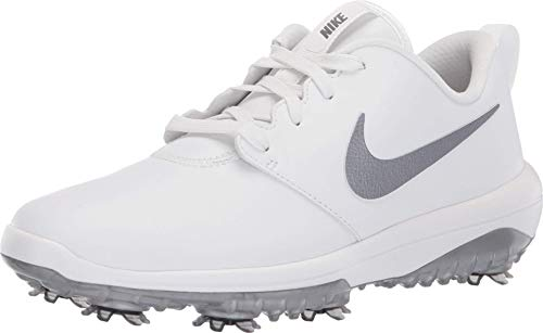 Nike Damen WMNS Roshe G Tour Golfschuhe, Mehrfarbig (Summit White/MTLC Cool Grey 100), 38.5 EU