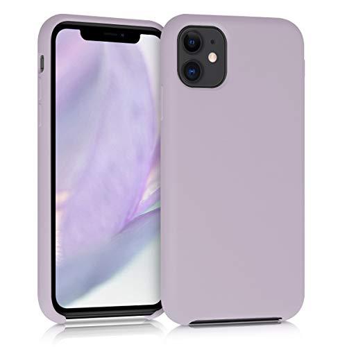 kwmobile Cover Compatibile con Apple iPhone 11 - Custodia in Silicone TPU - Back Case Protezione Cellulare Zucchero Filato