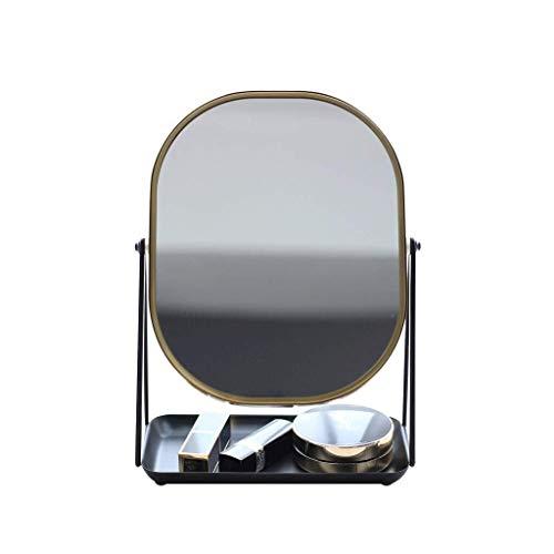 FENGRONG Espejo de Maquillaje Moderno Estilo Escandinavo Espejo De Baño HD Habitación...
