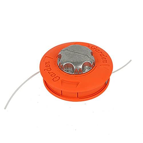 LIZHOUMIL Cabezal de desbrozadora para Oleo-mac 61112061a, ajuste universal, color naranja