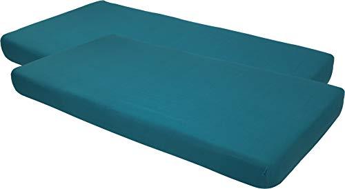 Blush & Blossom Jersey Kinderbett Spannlaken 60 x 120 mit Gummiband pro 2 Stück...