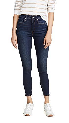 Rag & Bone/JEAN Women's Nina High Rise Ankle Skinny Jeans, Carmen, Blue, 26