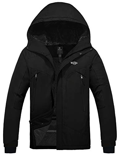 Wantdo Men's Ski Jacket Hooded F...