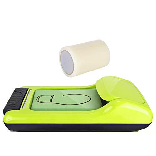 ZSQDSZ Máquina de película para zapatos Dispensador automático Antideslizante Resistente al agua, Formación desechable Salud científica Color sólido Protección simple Oficina en el hogar Cubierta de c