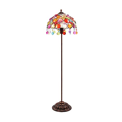 Floor Lamp for Living Room & Bedroom-LED Study of leeslampje naast uw bed-Nordic Modern Simple Binnenlandse Zaken Decoration Lamp DZE (Color : Multicolor, Size : 31cm*106cm)