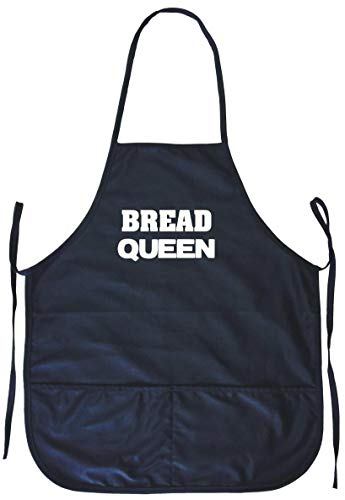 99 Volts Bread Queen Cooking Apron with Pockets
