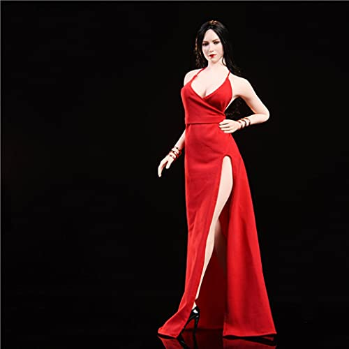 """Nakahara 1/6 Scale Female Red Carpet Evening Dress (A Pair of Bracelets) for 12"""" Female Action Figure Accessories The Best"""