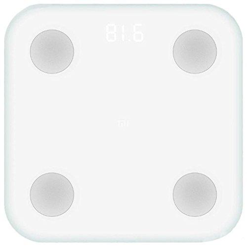 Xiaomi Mi Scale 2 Báscula Inteligente Bluetooth Blanco Bioimpedancia Medidar IMC