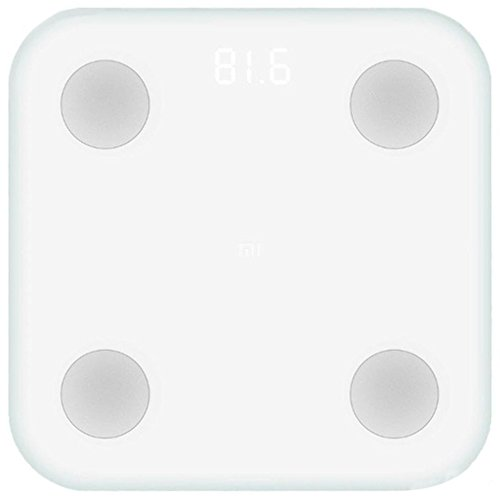 Xiaomi Mi Scale 2 Báscula Inteligente Bluetooth Blanco Bioimpedancia