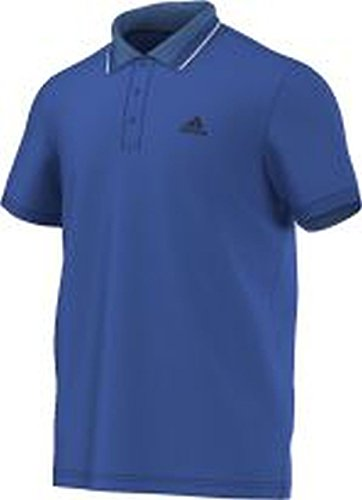 adidas ESS - Polo para Hombre, Color Azul/Negro, Talla M