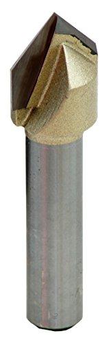Connex V-Nut Fräser Hartmetall Schaft 8 mm, Durchmesser 14 mm, COM610885