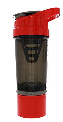 Stealth 500 ml Protein Shaker Bouteille Mélangeur Blender Cup Sports boisson bouteille d/'eau