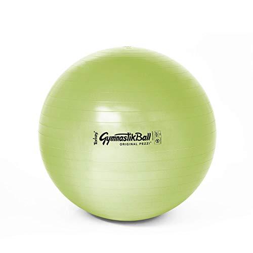PEZZI Original Gymnastikball Bio Lime 65 cm, Gymnastik Pilates Yoga Fitness