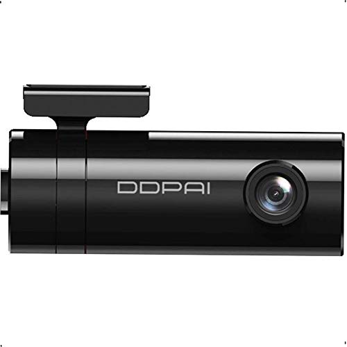DDPAI Mini Car Dash Camera with Upgraded Night Recording & Processor, Full HD 1080p with H.265, 140° Wide Angle, G-Sensor, WiFi, Parking Mode, Upto 128GB Supported