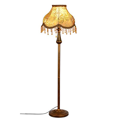 AINIFY Europäische - Style Wohnzimmer Lampe Wohnzimmer Schlafzimmer Arbeitszimmer Licht Luxusmode-Pastoral Retro Künstlerische