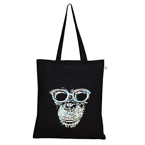 Eco Right Bolsa tela mujer, bolsa de comestibles reutilizable, lindas bolsas, bolsas de algodon impreso, bolsas de playa, bolsas de regalos mujer, tote bag