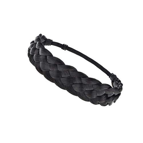 jieGorge Fashion Synthetic Wig Hair Band Elastic Twist Headband Princess Hair, Accessory, Clothing Shoes & Accessories (B)