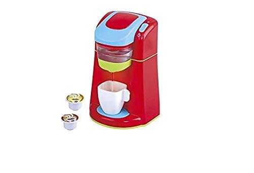 PlayGo - Cafetera juguete (luz y sonidos reales, electrodomésticos de juguete, cafetera a pilas, para niños de 3 años)