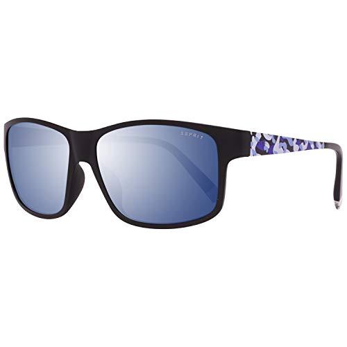 ESPRIT ET17893 57507 Sonnenbrille ET17893 507 57 Wayfarer Sonnenbrille 53, Schwarz