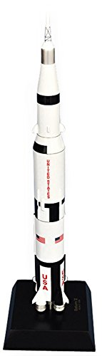 Mastercraft Collection Saturn V with Apollo model Scale: 1/200