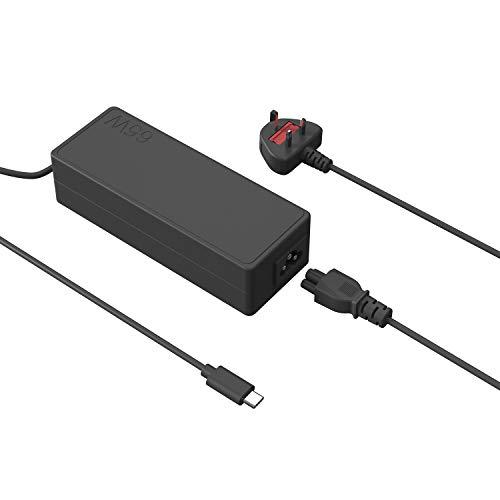 Adaptador USB C tipo C de 65 W para Lenovo X1 Tablet 2ª 3ª 4ª generación X1 carbono 5ª 6ª generación ThinkPad T580 E580 X280 E485 A485 T480S Chromebook C330 S330 Cable de alimentación para portátil