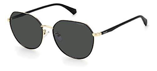 Polaroid Gafas de sol PLD 4106 GS RHL M9 negro oro lentes polarizadas