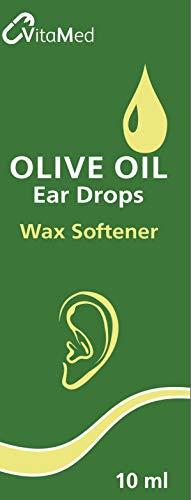 Vitamed Olive Oil Ear Drops 10ml Bottle