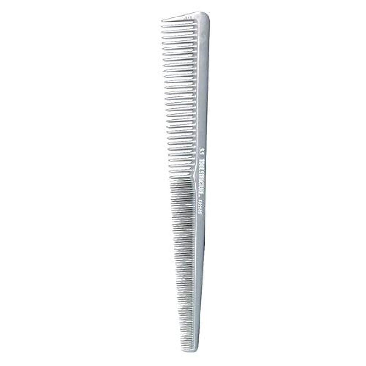 話す手綱ライムTool Structure Barber Comb #55 [並行輸入品]