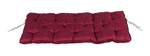 Meerweh Auflage für 2er Bank, rot, 120 x 50 x 10 cm, 74075