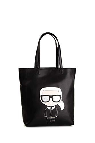 Karl Lagerfeld Damen K/Ikonik Soft Shopper Schwarz