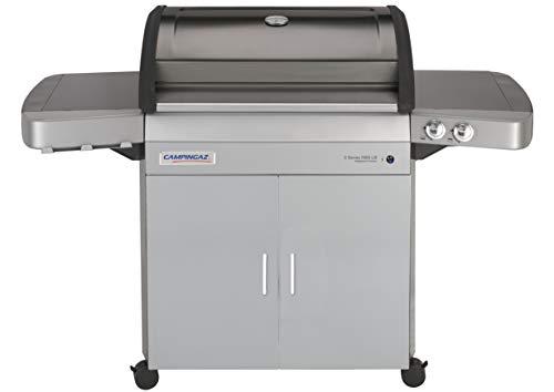 Campingaz Gasgrill 3 Series RBS LB mit Keramikbrennern, großer Grillwagen mit Deckel -Thermometer, InstaClean Reinigungssystem und Culinary Modular System