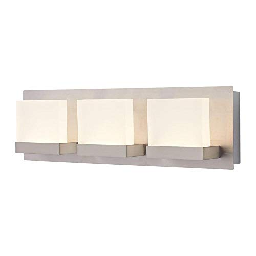 Home Decorators 28024-HBU Alberson Collection 3-Light LED Vanity Fixture
