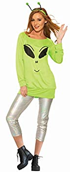 Forum Novelties Women s Spaced Out Costume Green Plus