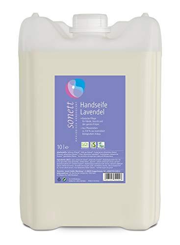 Handseife Lavendel: Basische Pflege für Hände, Gesicht und den ganzen Körper, 10 l