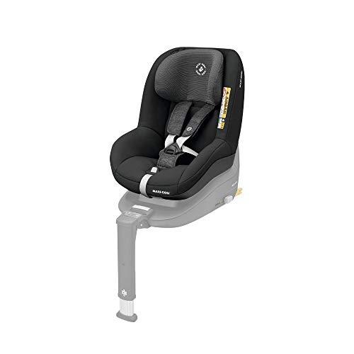 Maxi-Cosi Pearl Smart Kindersitz - rückwärts & vorwärtsgerichtetes Fahren möglich, für ISOFIX-Basis FamilyFix One i-Size, Gruppe 1 (9-18 kg) nutzbar ab 6 Monate - 4 Jahre, Nomad Black (schwarz)