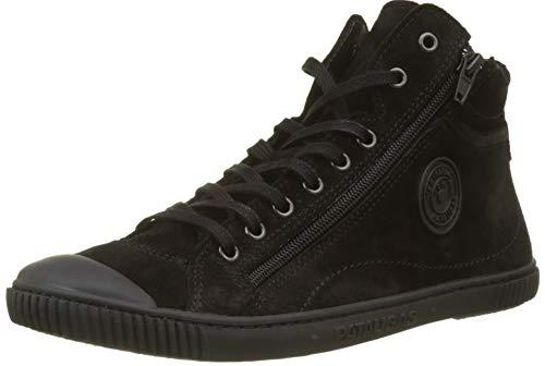 Pataugas Damen BONO/CR F4D Hohe Sneaker, Schwarz (Noir 850), 37 EU