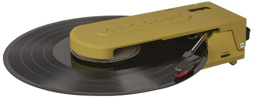 Crosley CR6020A-GR Revolution Portable USB Turntable with Software for Ripping & Editing Audio,...