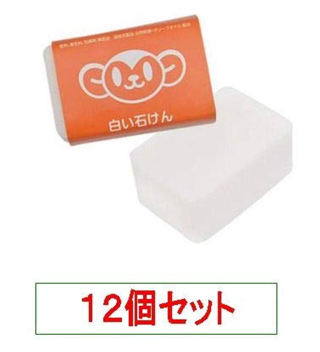 印刷する犯人硬さハイム むーくんシリーズ 白い石けん 120g<無添加の洗顔、入浴用>X12個セット