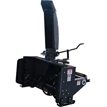 NorTrac 3-Pt. Snow Blower - 60in.W Intake, fits Tractors with 25 to 40 HP, Model Number BE-SBS60G
