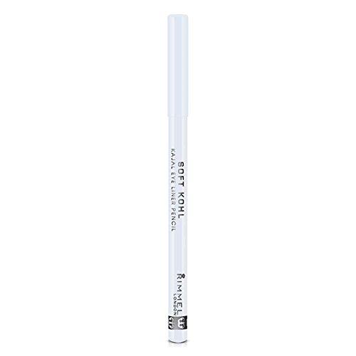 Rimmel London Soft Khol Eyeliner, Pure White, 1.2 g