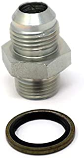 Tier1 Motorsports Bosch 044 Fuel Pump Inlet Adapter Fittings STEEL 8 AN -8 E85 Compatible 18 x 1.5