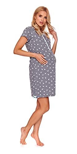 DN Nachthemd TM.9202 Grey-M Gr. S