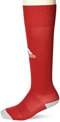 Adidas Unisex Kinder Milano 16 Socken, Power Rot/Weiß, 2.5-4 UK (34-36 EU)