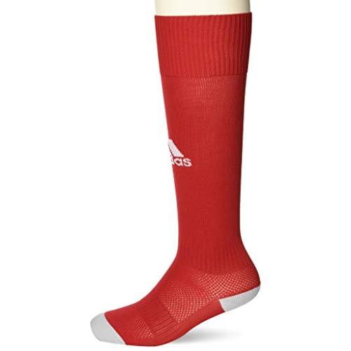 Adidas Milano 16, Calzettoni Uomo, Rosso (Power Red/White AJ5906), 37-39