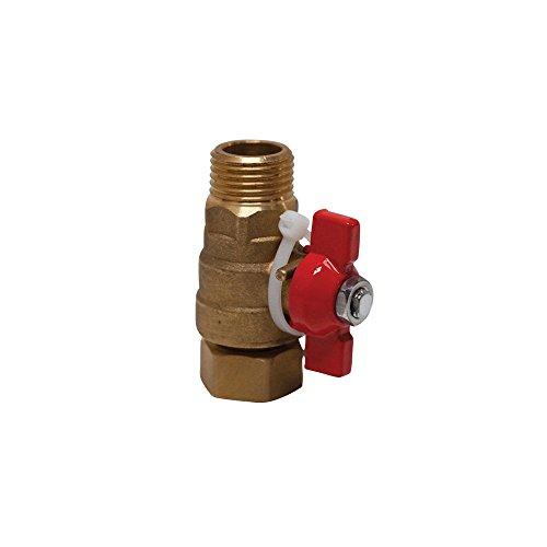 Boutt 3178305 PRV15 - Mini valvola a dado mobile per polietilene reticolato, maschio/femmina 15 x 21