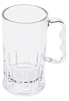 GET Shatter-Resistant Plastic Beer Mug
