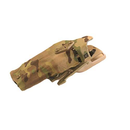 Funda para Arma, Compatible con Modelos Glock 17, 18, 19, con Correa Que Permite ajustarla a la Pierna