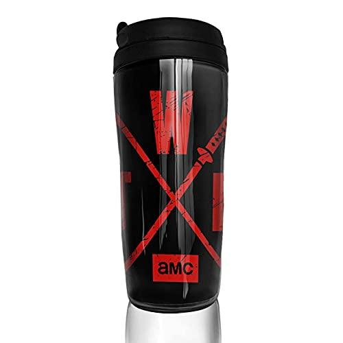 Tazas térmicas The Walking Dead Taza de café de viaje y taza de té termo al vacío de acero inoxidable 350ml