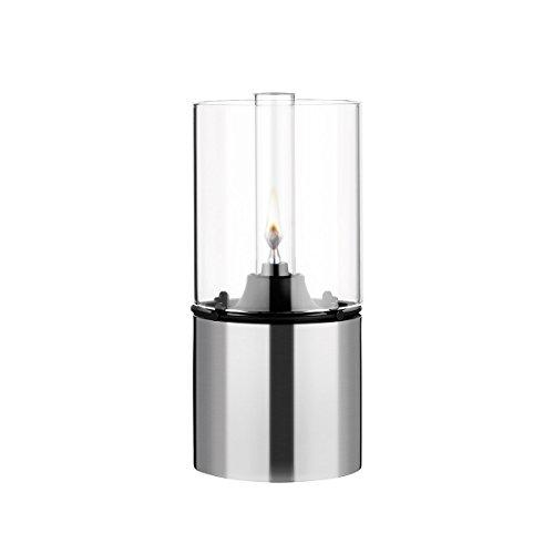 Stelton - EM Öllampe mit Glasschirm, klar, 18 x 8,5 cm.